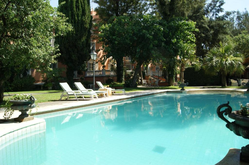 The swimming pool at or near Hotel Villa Paradiso dell'Etna