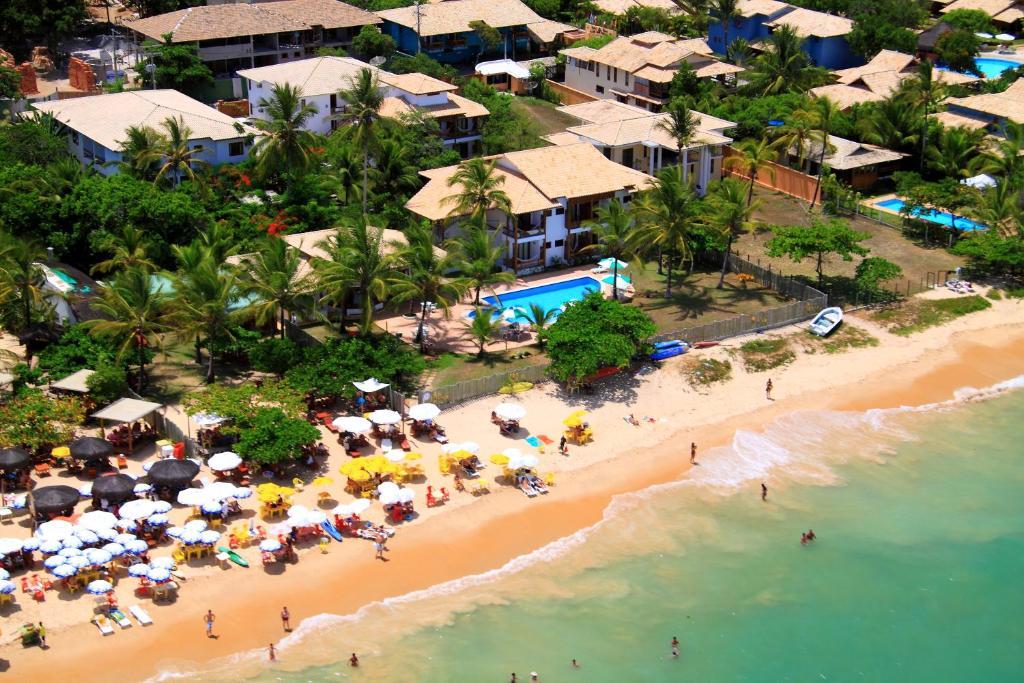 A bird's-eye view of Enseada dos Corais Praia Hotel