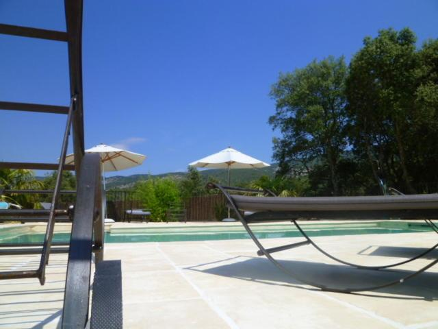 The swimming pool at or near Les Tournillayres