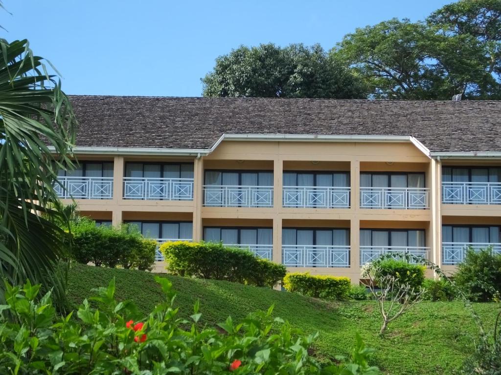The Tiki Hotel.