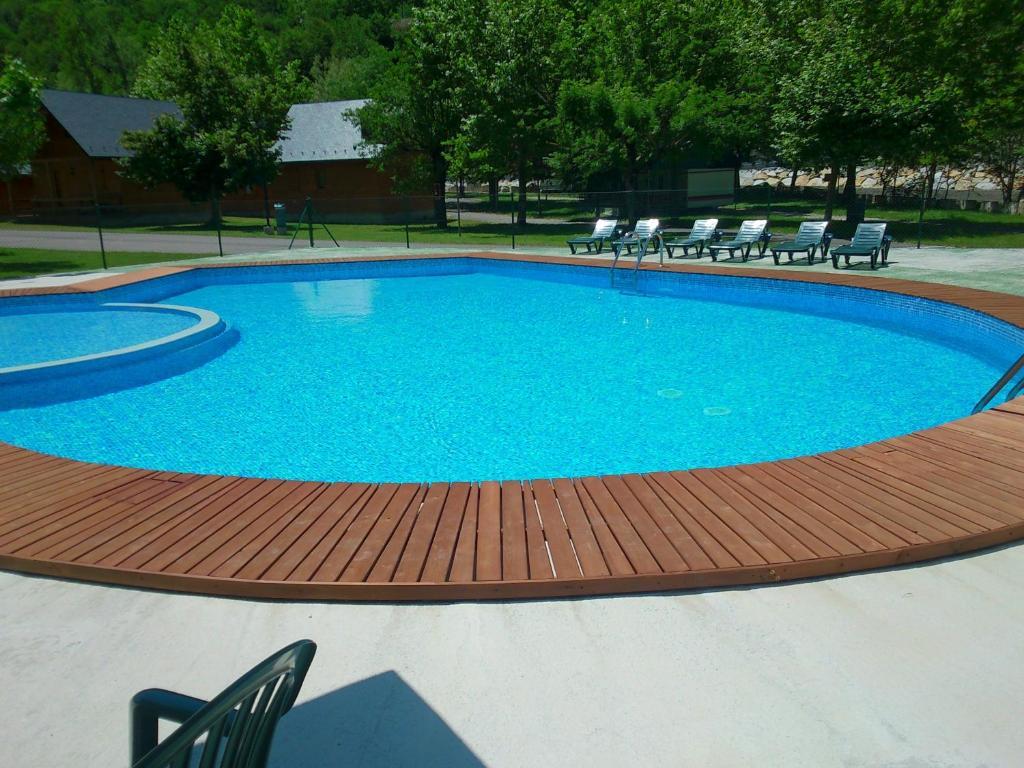 The swimming pool at or near Camping Prado Verde