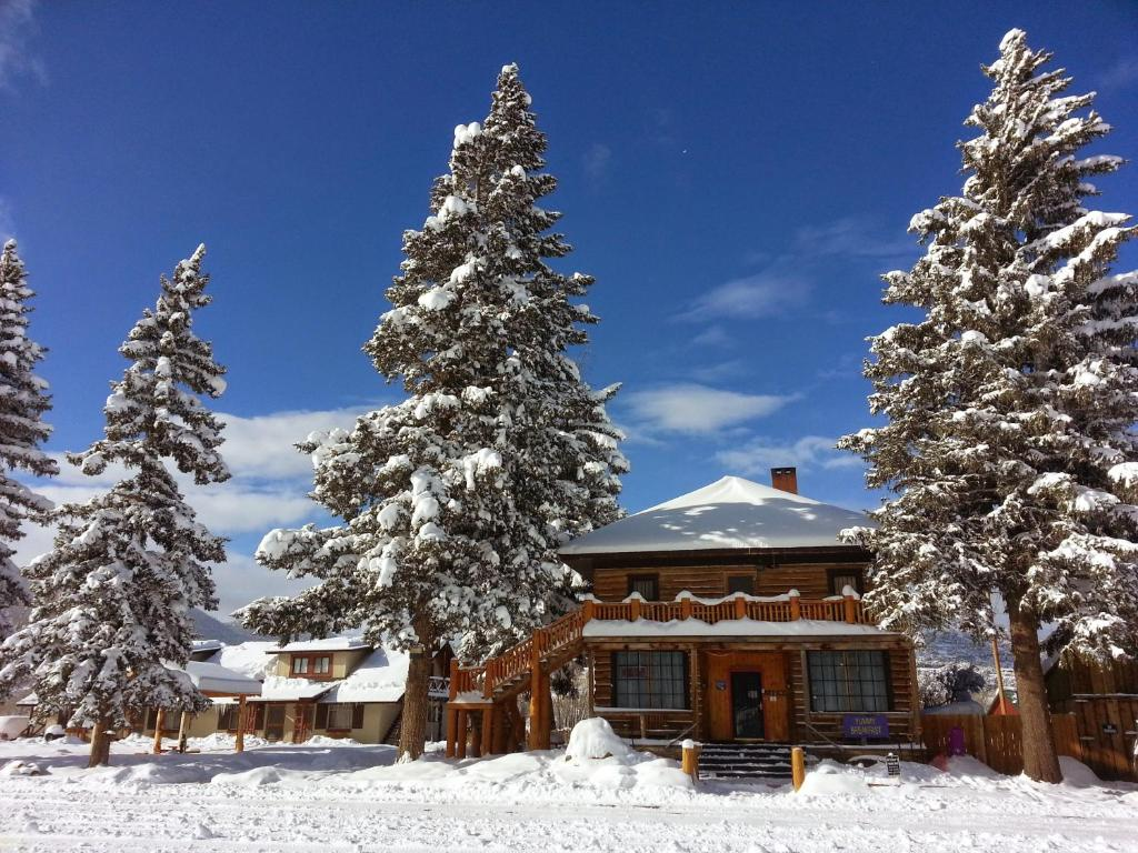 The Spruce Lodge during the winter
