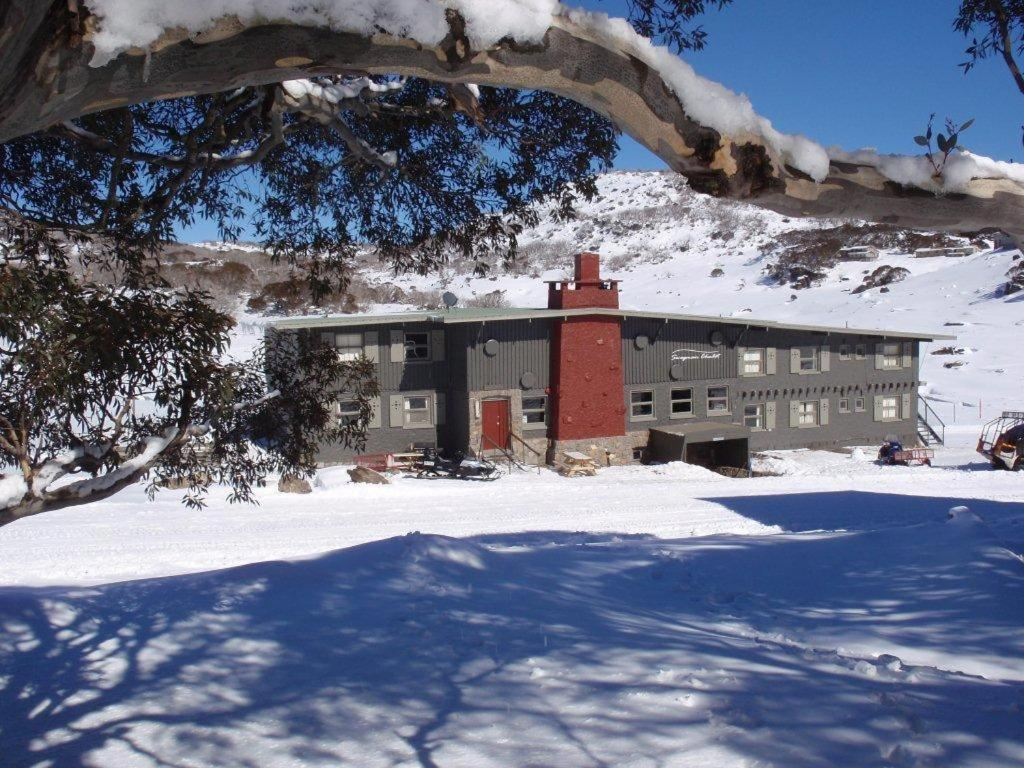 Swagman Chalet during the winter