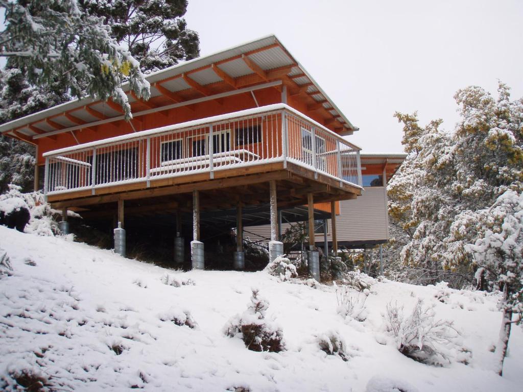 Base Camp Tasmania during the winter