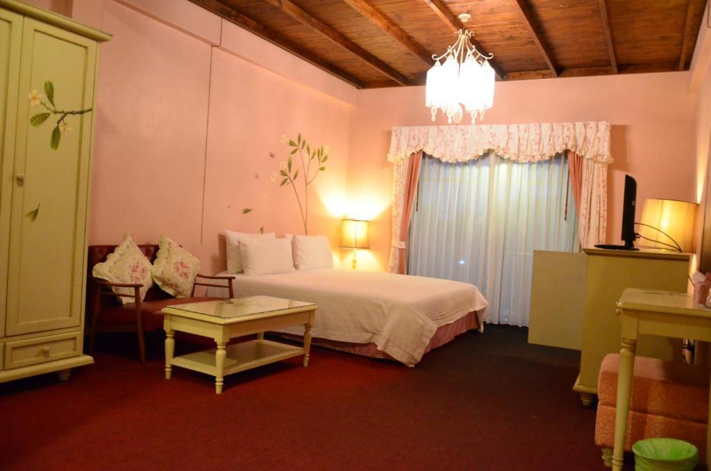 ザ カラード ハウス ジョムティエンにあるベッド