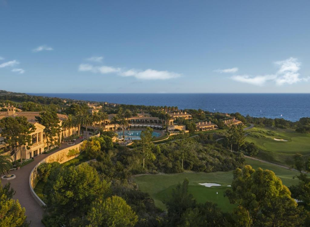 A bird's-eye view of Resort at Pelican Hill
