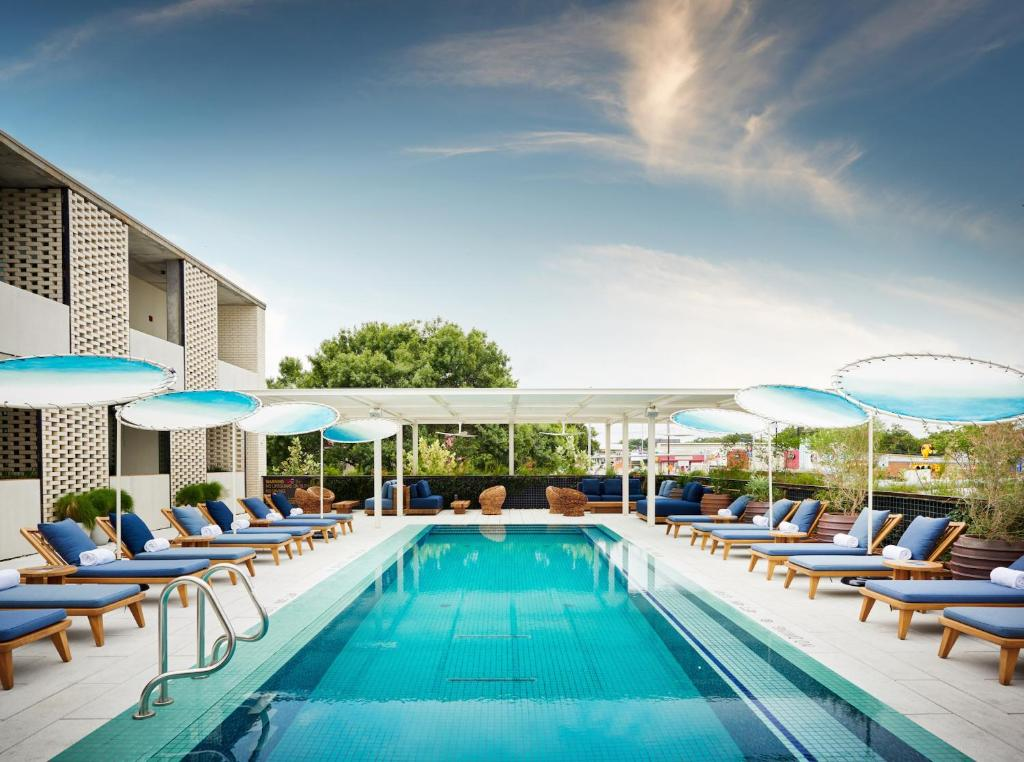 The swimming pool at or near South Congress Hotel