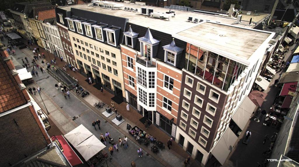 A bird's-eye view of The Duke Boutique Hotel
