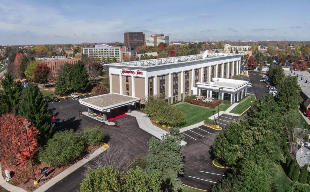 A bird's-eye view of Hampton Inn Ann Arbor-South