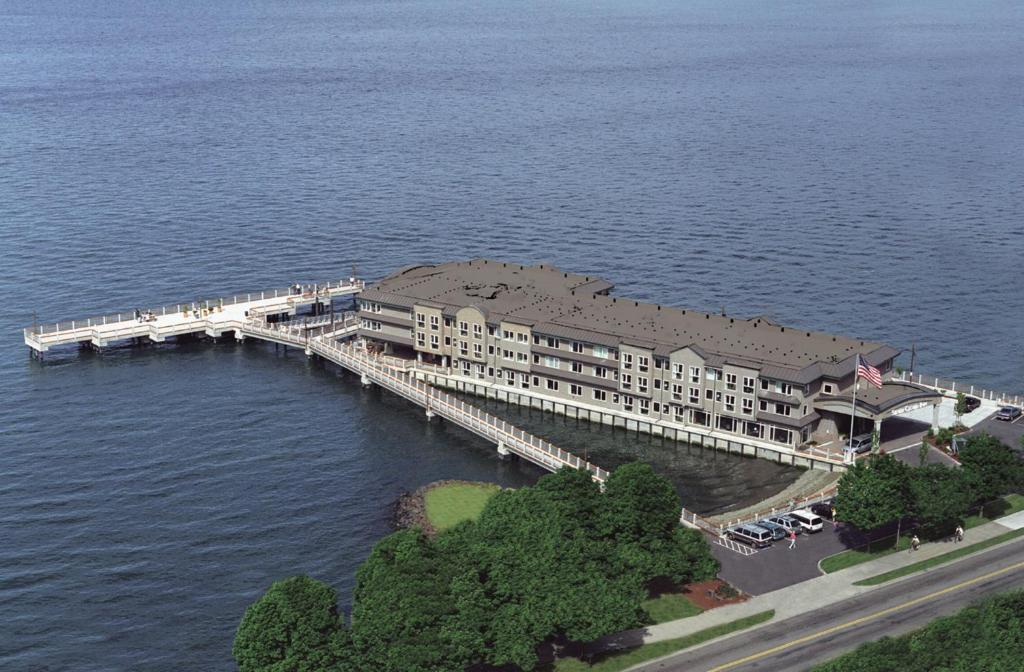 A bird's-eye view of Silver Cloud Inn - Tacoma Waterfront