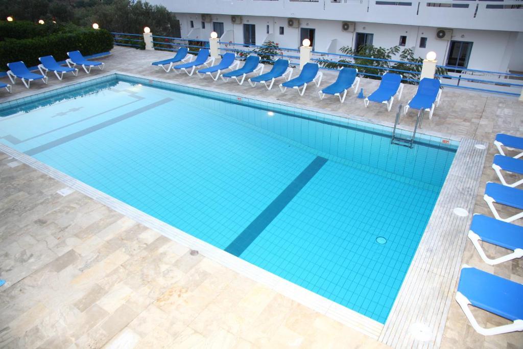 Πισίνα στο ή κοντά στο Poseidon Hotel