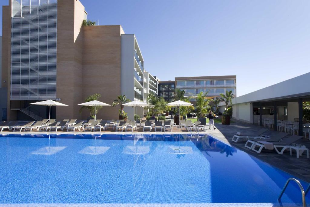 The swimming pool at or near Altafulla Mar Hotel