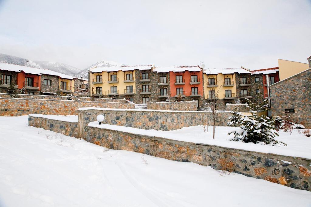 Το Domotel Neve Mountain Resort & Spa τον χειμώνα
