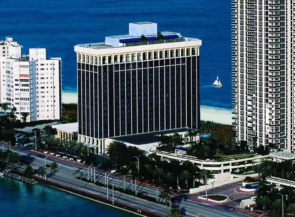 Miami Beach Resort & Spa a vista de pájaro
