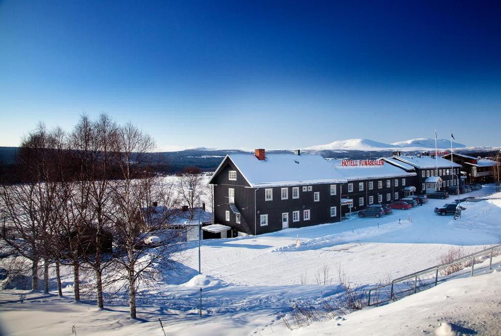 Vandrarhem Funäsdalen talvella