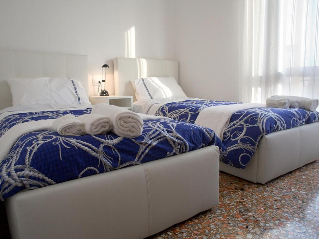 A bed or beds in a room at I like Venice