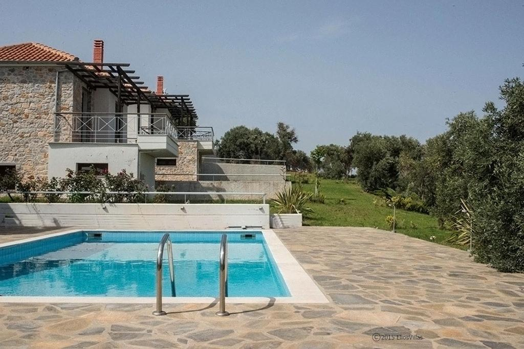 The swimming pool at or close to Elios Villas