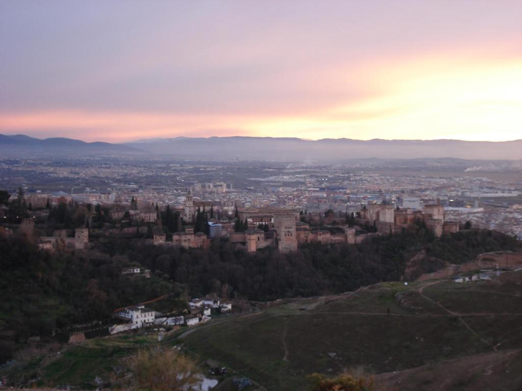 A bird's-eye view of Posada Azahar