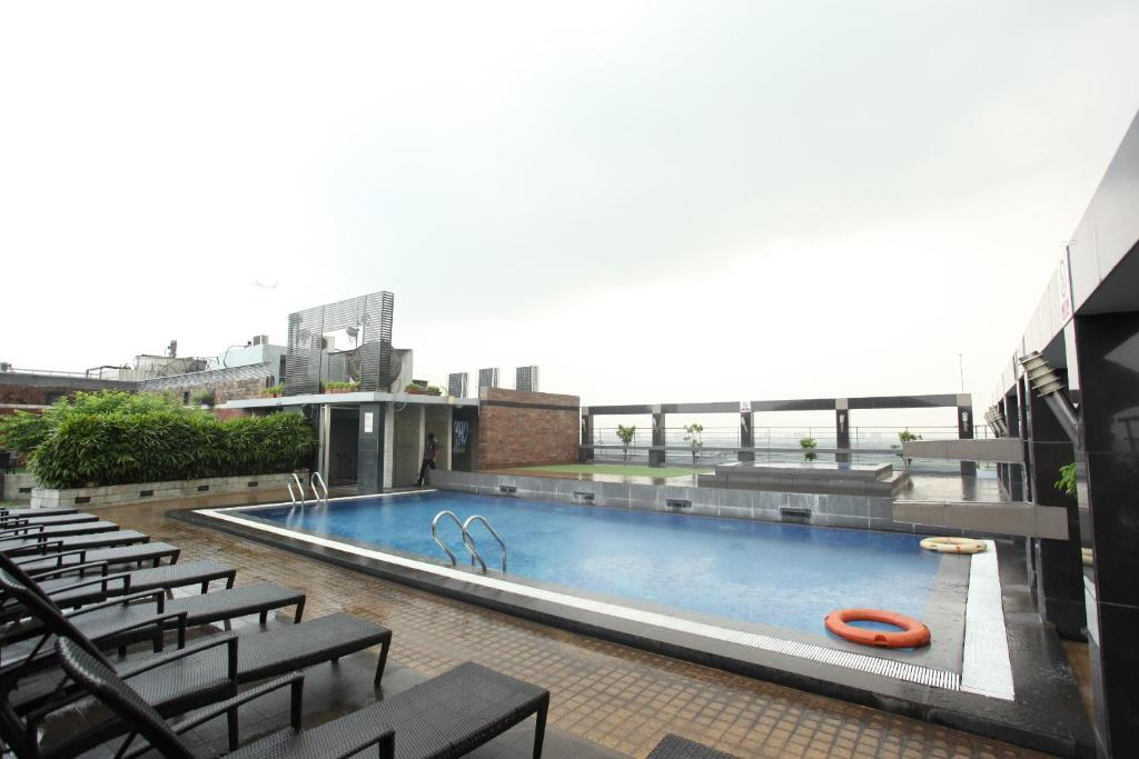 The swimming pool at or near Dhaka Regency Hotel & Resort Limited