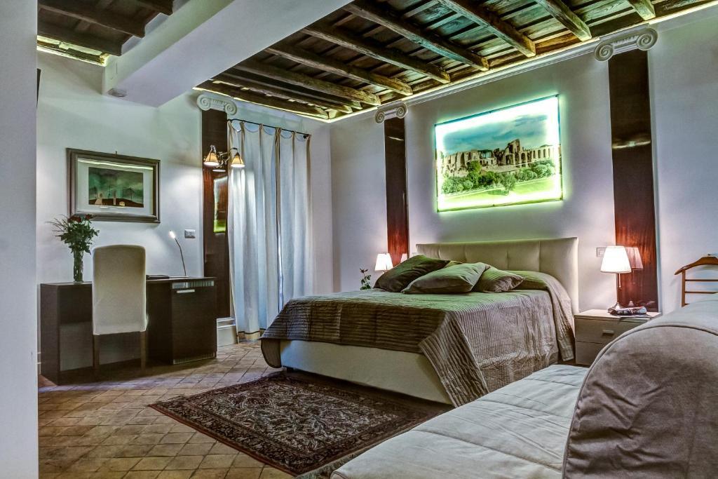 Un ou plusieurs lits dans un hébergement de l'établissement Good Life Monti