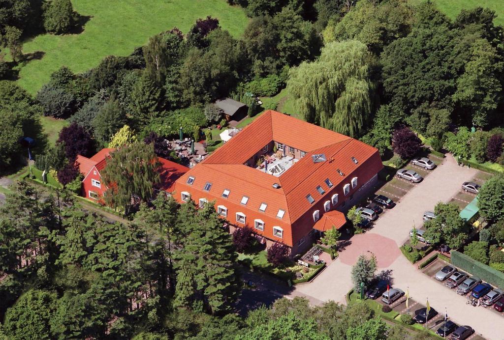 Blick auf NordWest-Hotel Amsterdam Superior aus der Vogelperspektive