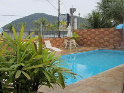 A piscina localizada em Pousada My Power ou nos arredores