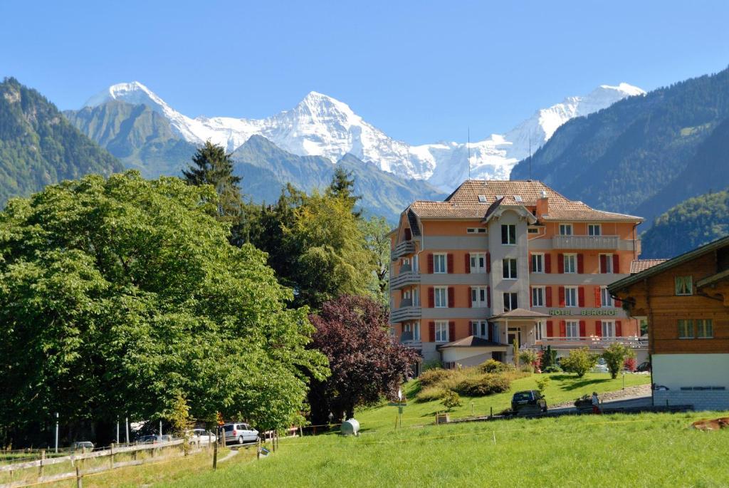 Hotel Berghof Amaranth Wilderswil, Switzerland