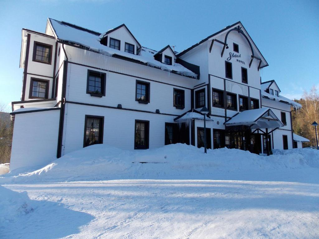 Hotel Start during the winter