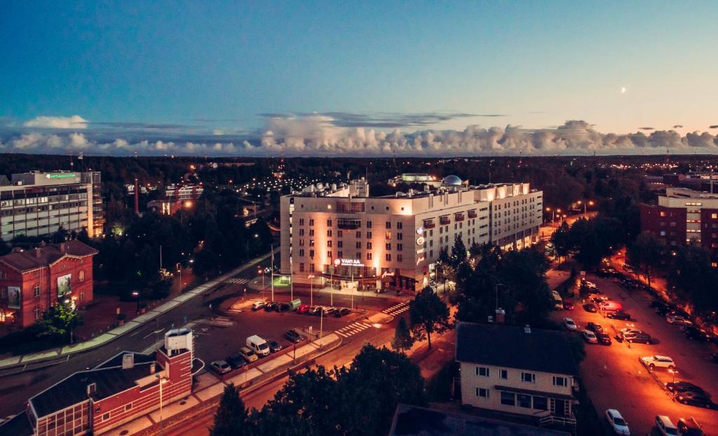 Original Sokos Hotel Vantaa с высоты птичьего полета