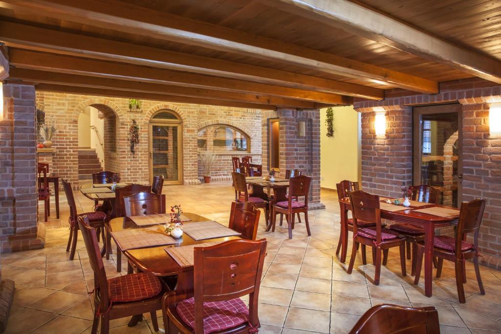 Restaurace v ubytování Hotel Aurelius Mikulov