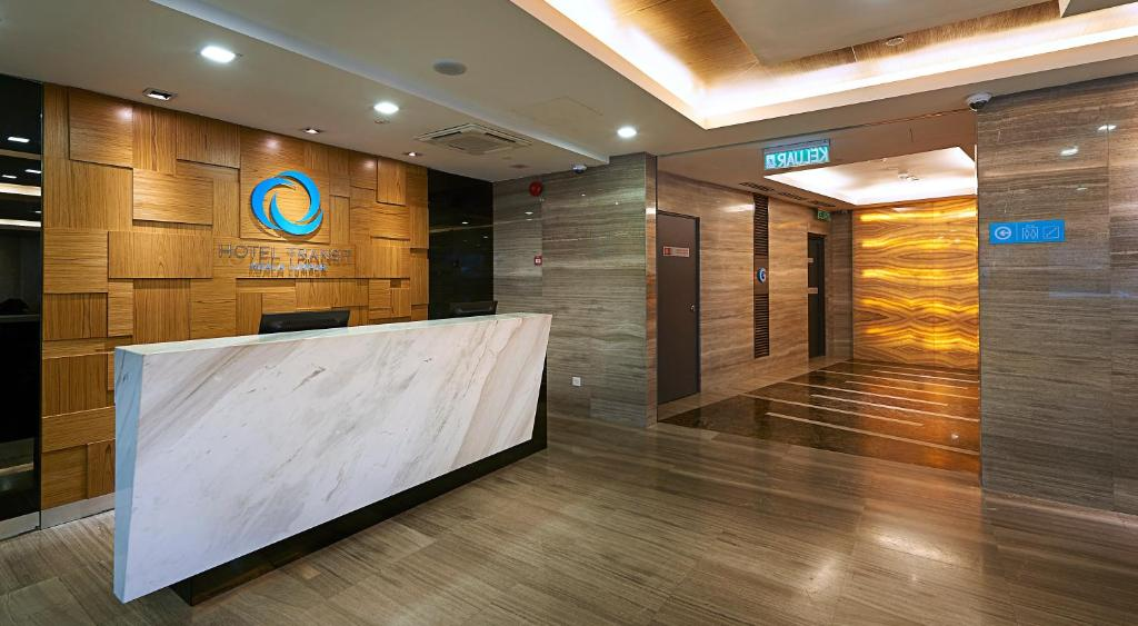 The lobby or reception area at Hotel Transit Kuala Lumpur