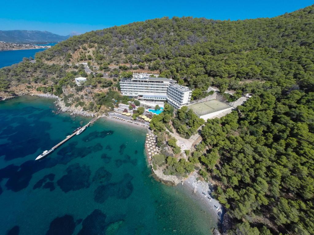 A bird's-eye view of Sirene Blue Resort