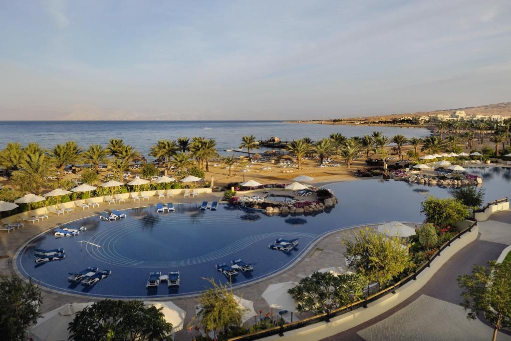 Mövenpick Resort & Spa Tala Bay Aqaba с высоты птичьего полета