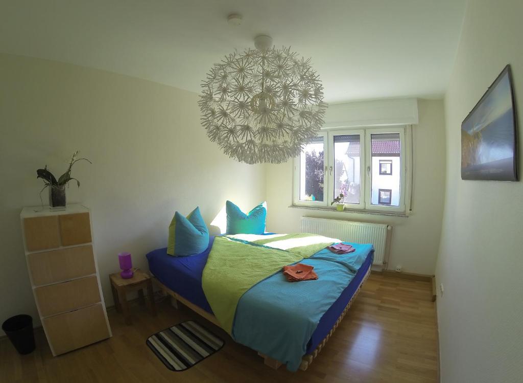 Ein Bett oder Betten in einem Zimmer der Unterkunft Apartment Avanzato