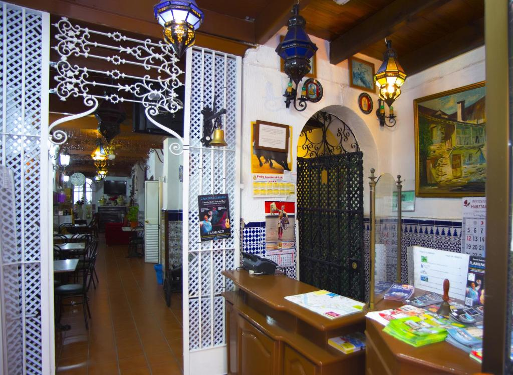 Ristorante o altro punto ristoro di Pensión Santa María la Blanca