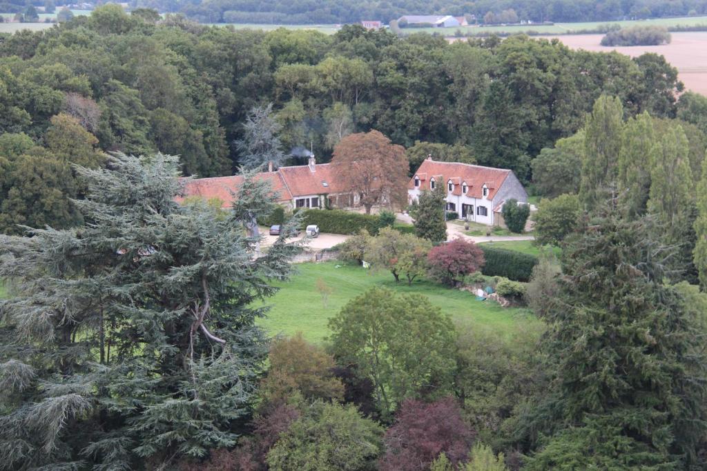 A bird's-eye view of B&B La Ferme des Bordes