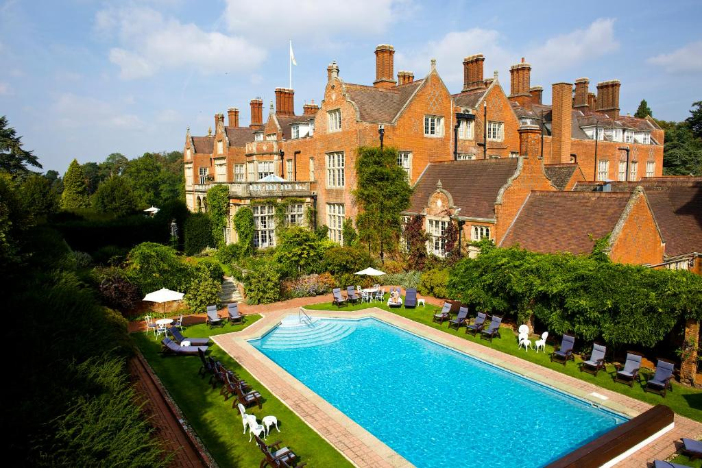 A view of the pool at Tylney Hall Hotel or nearby