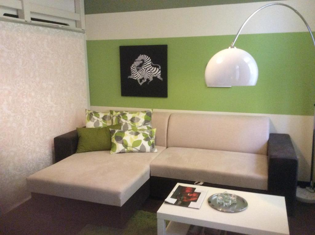 A seating area at Apartment Ivory