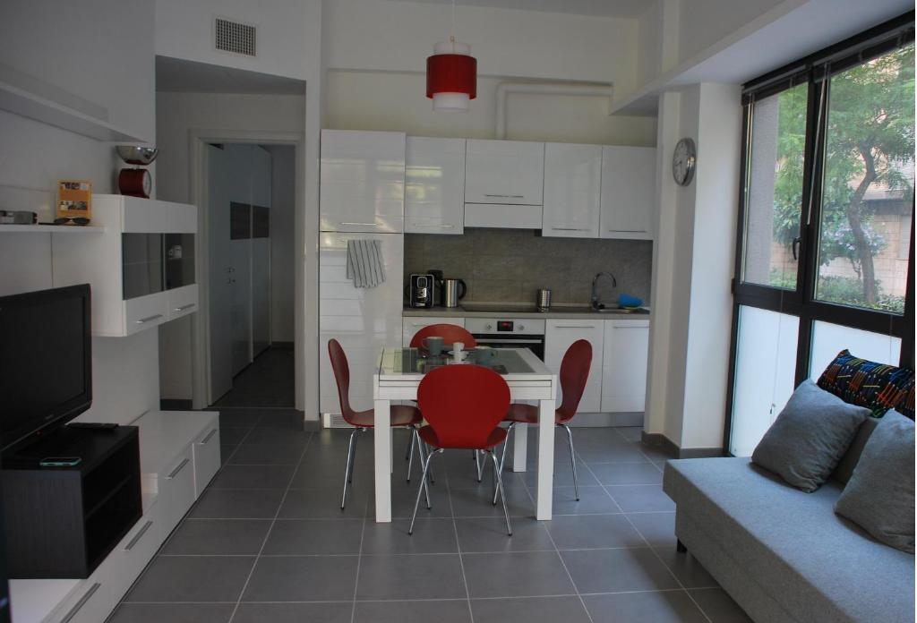 Cuisine ou kitchenette dans l'établissement La Casita Holiday House