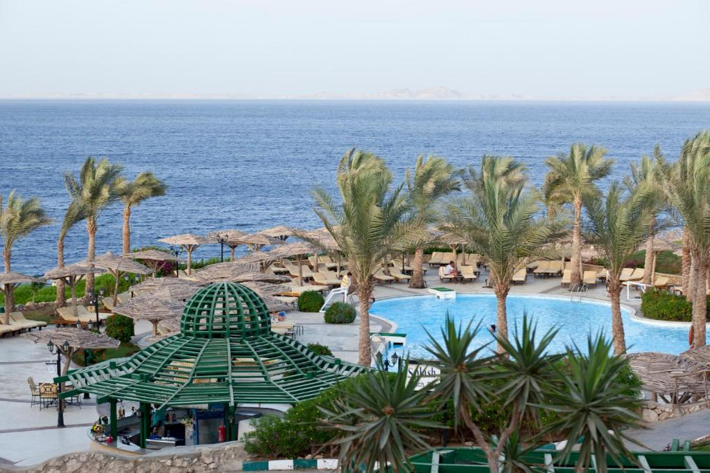 A view of the pool at Coral Beach Resort Tiran (Ex. Rotana) or nearby