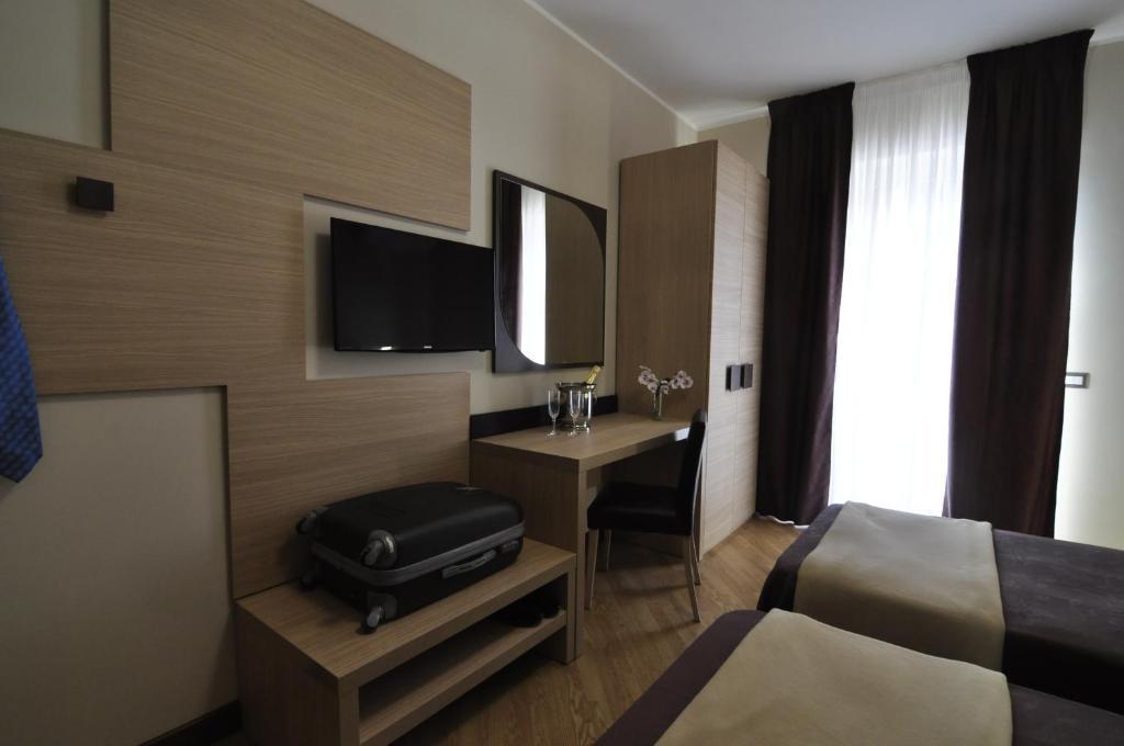 TV o dispositivi per l'intrattenimento presso La Suite Di Trastevere