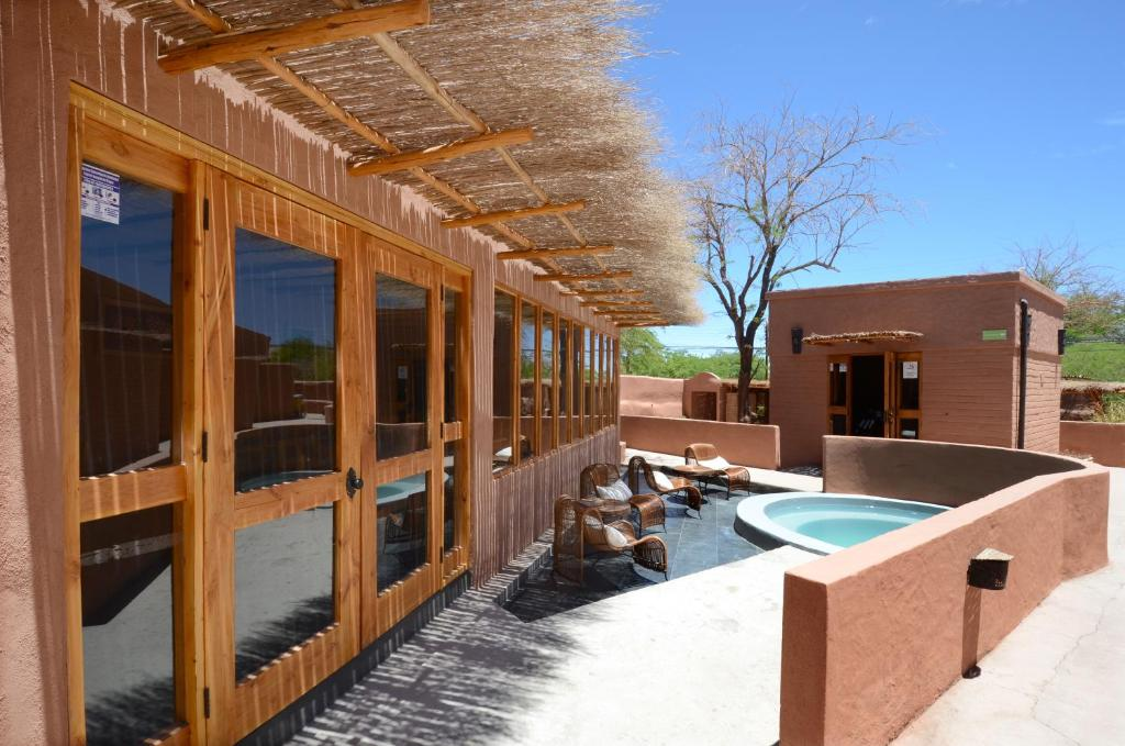 A piscina localizada em Hotel Pascual Andino ou nos arredores