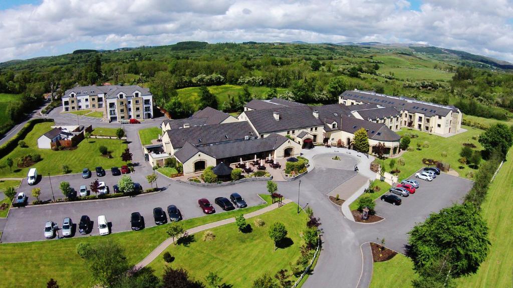 A bird's-eye view of Mill Park Hotel