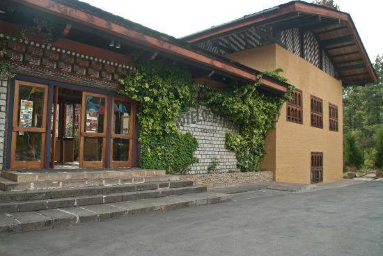 The facade or entrance of Olathang Hotel