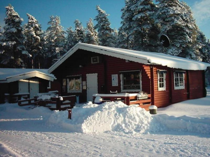 Mullsjö Camping during the winter