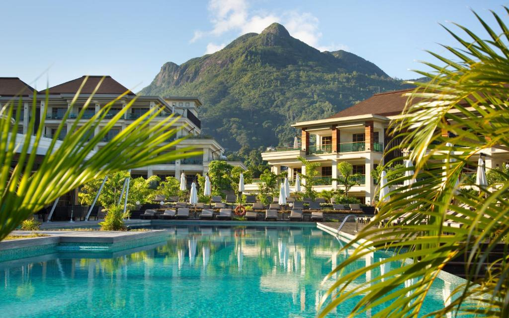 The swimming pool at or near Savoy Seychelles Resort & Spa