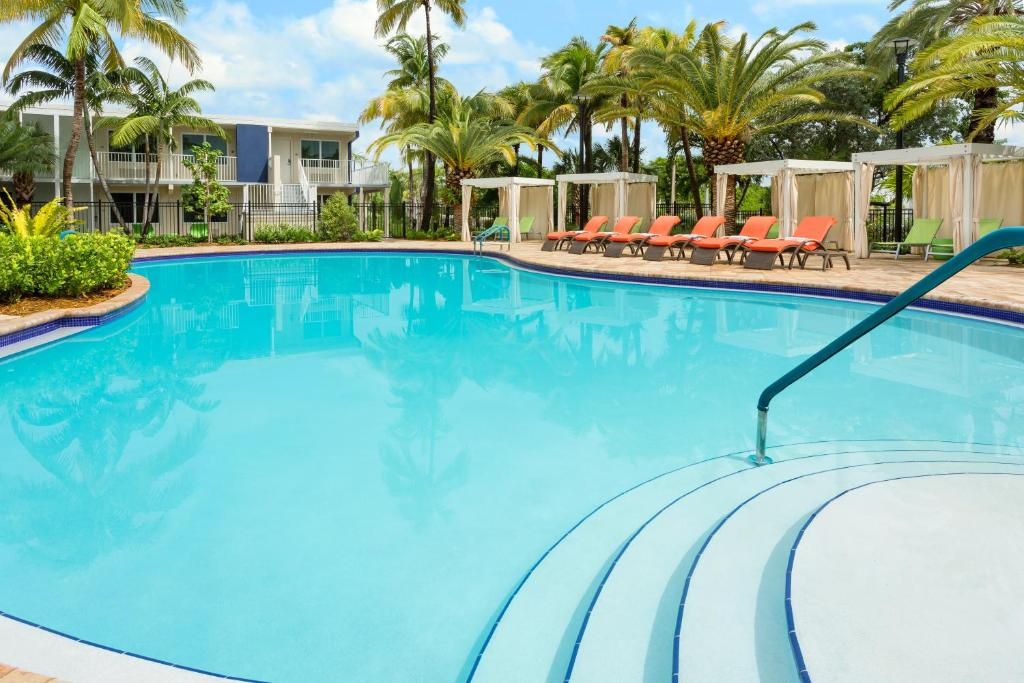 The swimming pool at or near Fairfield Inn & Suites by Marriott Key West at The Keys Collection