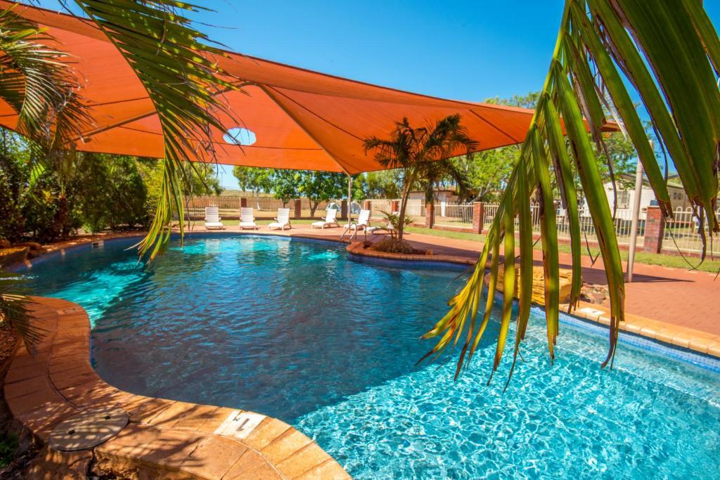 The swimming pool at or near Discovery Parks - Pilbara, Karratha