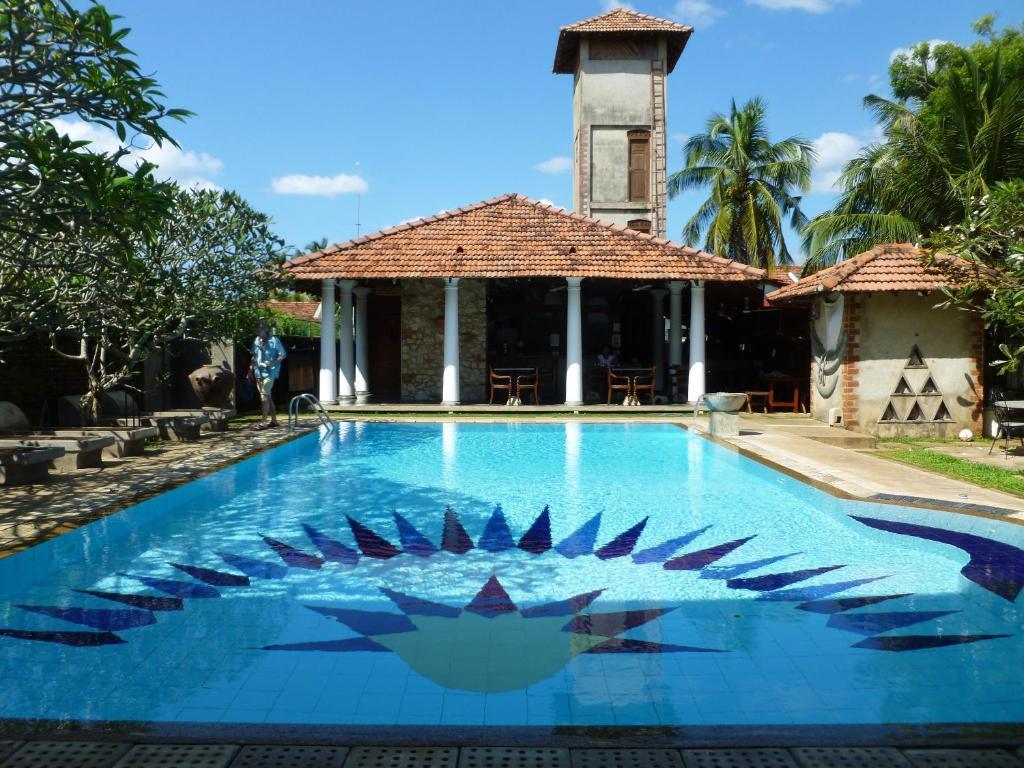 The swimming pool at or near Villa Araliya