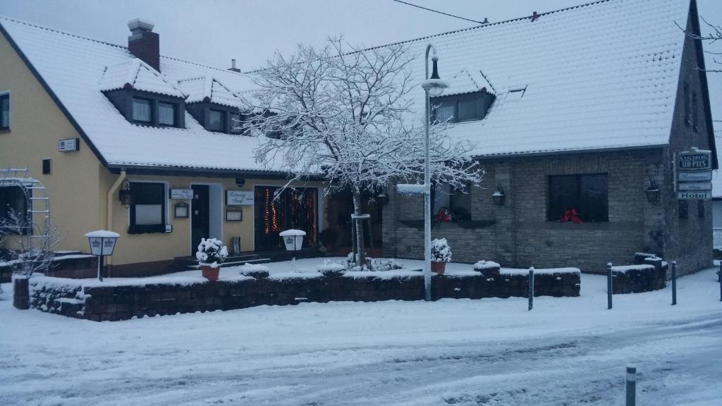 Hotel Am Markt im Winter